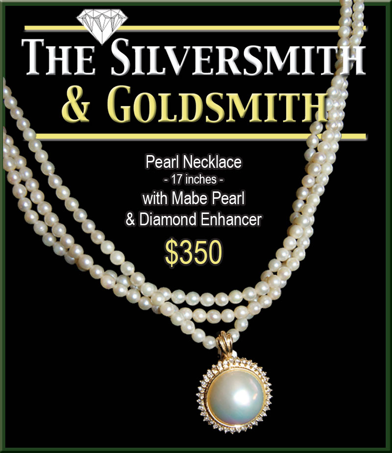 Silversmith Pearl Necklace